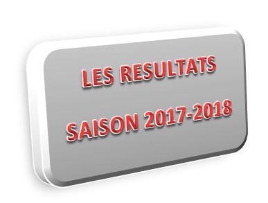 PALMARES - Les VAINQUEURS de la saison 2017-2018...