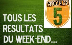 LES RESULTATS DU WEEK-END...