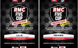 RMC Five Cup Universitaires - début demain !